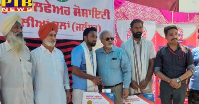 Innocent Hearts Group of Institutions organized free Medical Camp at village Lalliyan Kalan