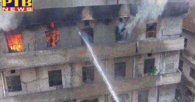 punjab ludhiana major fire in bajwa nagar factory