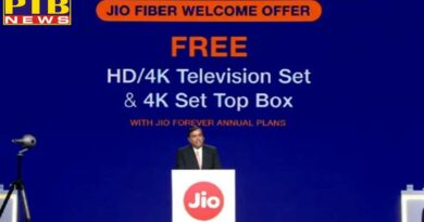 technology tech diary jio gigafiber plans launched user will get free led tv and 4k settop