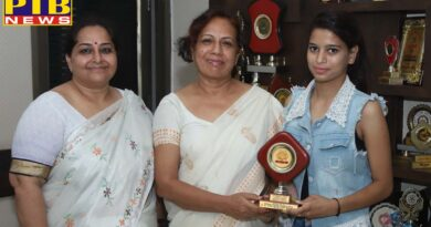 Student of SD College for Women secured fourth place in the university