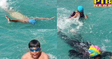 Swimming competition held in GD Goenka School Jalandhar