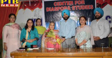 Center for Diaspora Studies was launched at Lyallpur Khalsa College Jalandhar