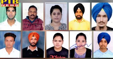 St. Soldier DP Ed students hold first 10 positions in Punjab