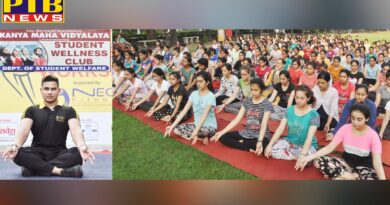 KMV Organizes a One Day Fitness Workshop