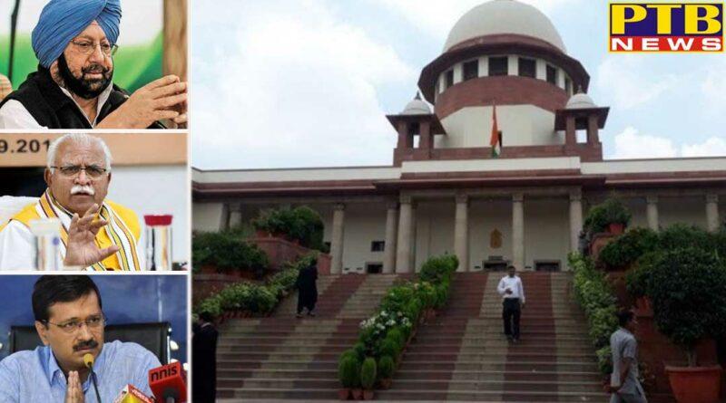 supreme court warned punjab haryana and delhi govt on politicising ravidas madir demolish