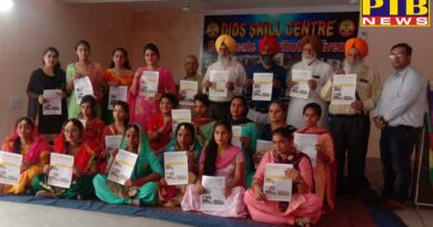 three-day technical fair was organized by CDTP department of Mehar Chand Polytechnic College Jalandhar