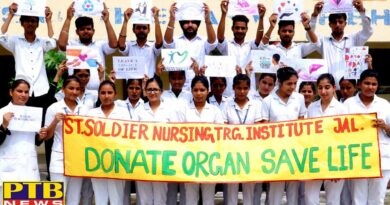 St. Soldier GNM students celebrate Organ Donation Awareness Day