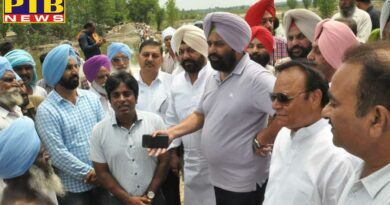 WATER RESOURCES MINISTER EXPRESSES SATISFACTION ON PLUGGING WORK IN PHILLAUR