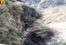 three people died after pickup vehical fell into deep tranch in chamba himachal
