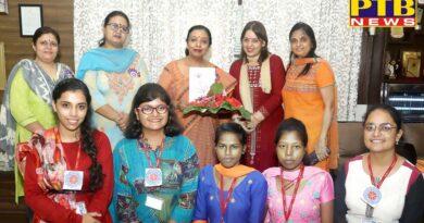 NSS Unit of HMV Celebrated NSS day dedicated to 550th birth anniversary of Shri Guru Nanak Dev Ji