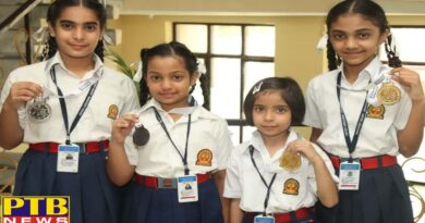 Students of Innocent Hearts win Gold, Silver and Bronze medals in Roller Skating Championship
