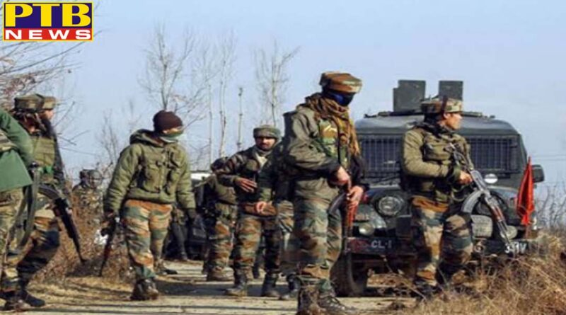 International security forces got huge success in sopore of jammu and kashmir lashkars top terrorist asif killed