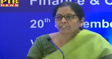 new delhi national finance minister nirmala sitharaman announced to reduce the corporate tax of companies