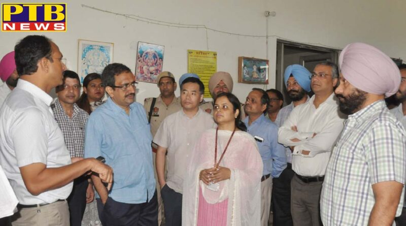 Jalandhar Divisional Commissioner and DC seeks RS 270 crore flood compensation from GOI