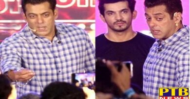 Actor salman khan rages on photographer on bigg boss 13 launch says ban me if you want Mumbai india