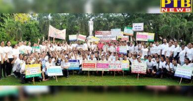 KMV Commences the Week Long Celebrations of Mahatma Gandhi's 150th Birth Anniversary with Run for Swacch Sashakt Bharat