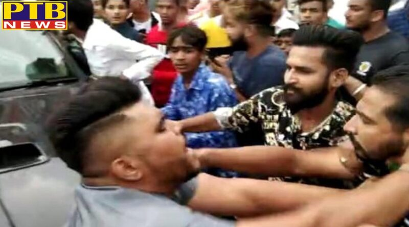 The bouncer attacked the media personnel on the order of the Punjabi singer