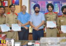 Students of Mehar Chand Polytechnic College Jalandhar honored