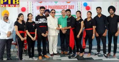 Celebrated World Pharmacy Day at St. Soldier's Pharmacy Institute