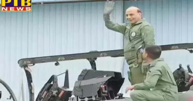National rajnath singh flies in the indigenous fighter aircraft tejas the first defense minister