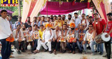 Digital Media Association (DMA) felicitated at the fair by Shri Siddha Baba Sodhal Trust (Chaddha fraternity)