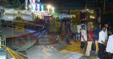 Major accident during Sodhal fair The swing broke suddenly, many injured