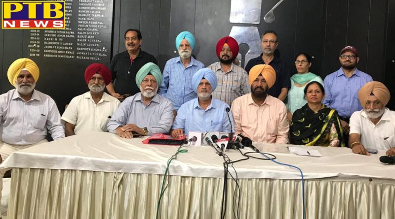 Sajjan Singh Cheema opened front against Punjab government Olympic winners pension of 15 thousand rupees giving 600 rupees to the players of pnjab