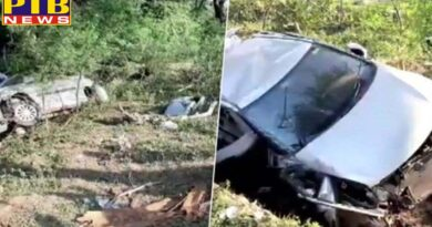 mp horrific road accident in hoshangabad 4 national level hockey players died