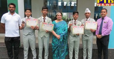 IVY World School students won 6 medals in Karate Championship