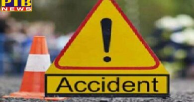 one and a half year old innocent died in road accident in front of mother chandigarh Punjab