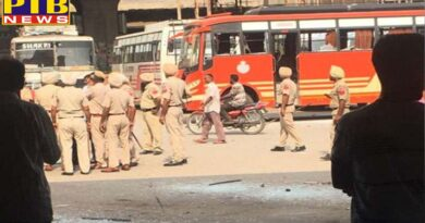 Masked firing on bus station amritsar clash between employees of bus companies Punjab