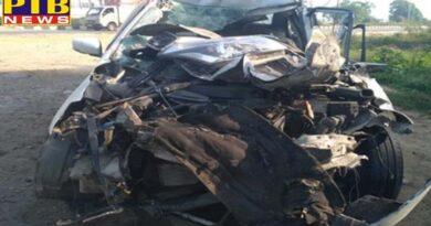 accident congress leader death Ludhiana Punjab