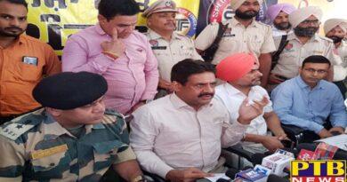 Amritser policeman dies in encounter in jandiala Guru Punjab