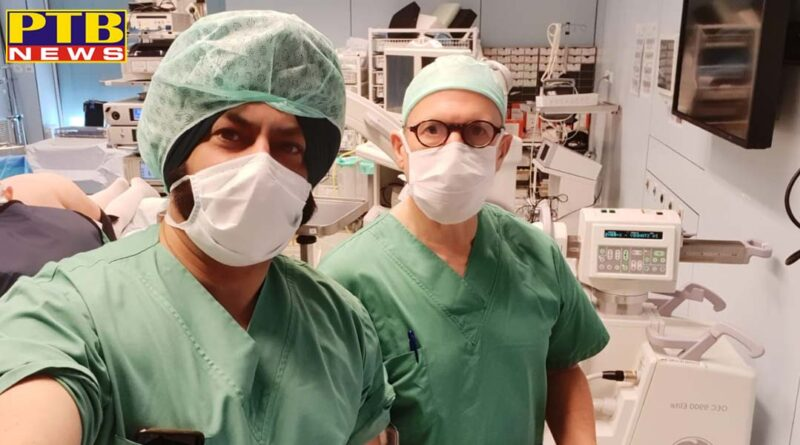 Dr. Harpreet Singh of Orthonova Hospital performed several complex operations abroad outside the country