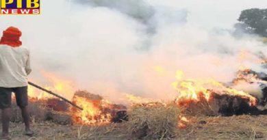 case filed on 9 more farmers for setting up stubble Punjab barnala