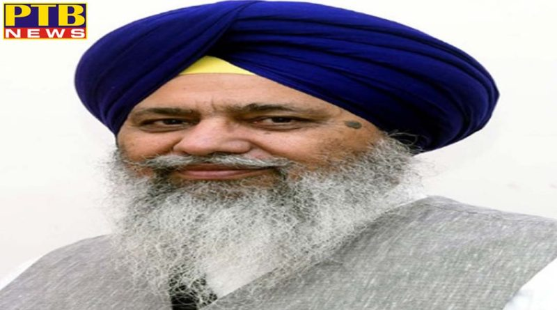 gobind singh longowal becomes the chairman of sgpc for the third time Punjab