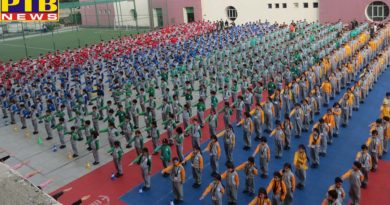 Ivy World School pledged to conserve water Jalandhar