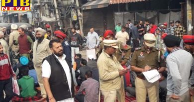 Jalandhar's Jyoti Chowk staged a sit-in protest to break Tikki Wala Chowk