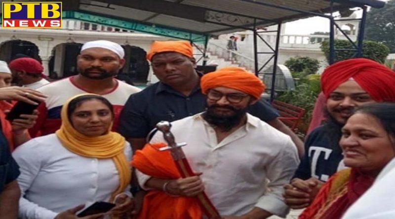 amir khan reached gurdwara shri bhatta sahib Nawanshahr Punjab