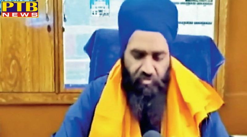 granthi who fired during the ardas was the manager of gurdwara sahib in moga punjab