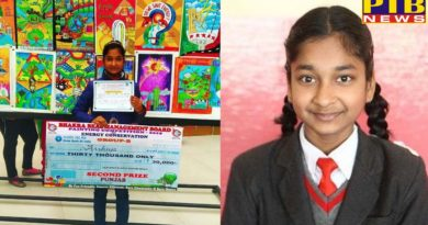 Arshia of Innocent Hearts won Prize of Thirty Thousand in Drawing Competition