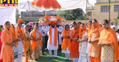 Program in 550th year of Guru Nanak Dev Ji in St. Soldier Group