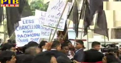 students showed black flag to governor dhankar who arrived at the convocation of jadavpur university chanted go back PTB Big Breaking news