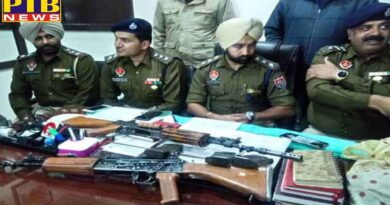 family had a loan of lakhs than young man conspired to steal insas rifle and weapon of army hoshiarpur Tanda Punjab PTB Big Breaking News