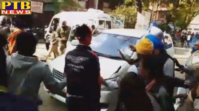 congress mla from dharamkot attacked escapes punjab Moga