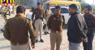 lady teacher killed outside of school when going on activa near mohali