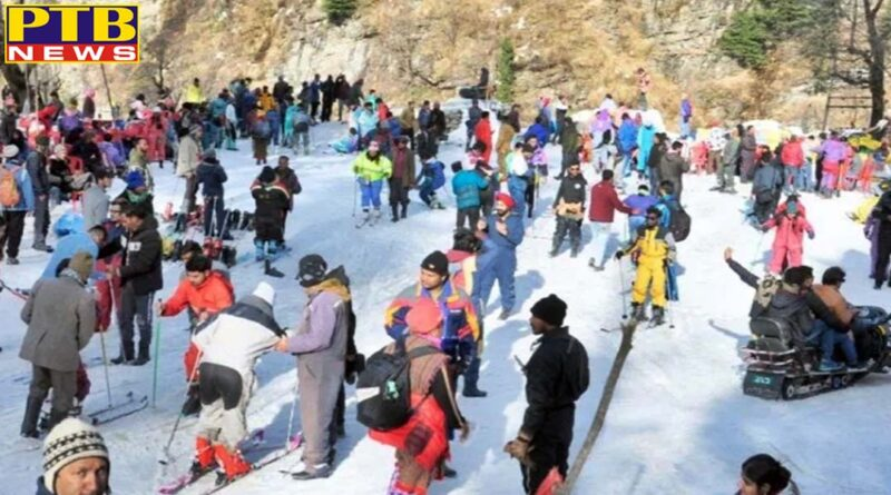 heavy cold in himachal 8 areas including shimla manali temperature dips in minus