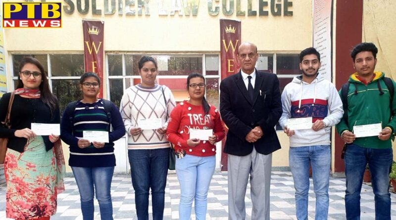 St. Soldier gives 28000 scholarship to law students
