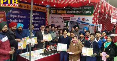 Career Guidance Stall at Spark Mela by St Soldier Group