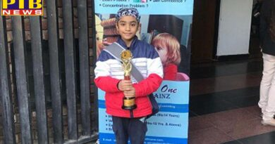 IVY World School student Siraj Singh secured second place in Abacus